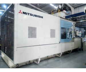 TK767 - Mitsubishi 1600MM IIIW-240 Injection Molding Machine (2000)