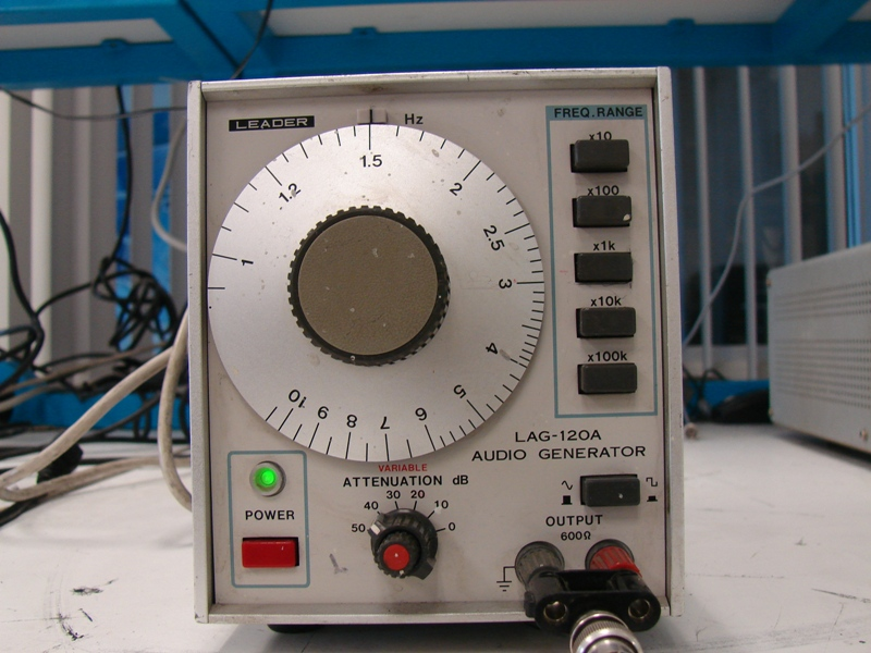 Tk94 leader lag-120b audio generator.