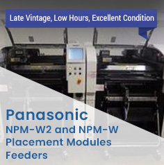 TK1053 - Panasonic NPM-W (NM-EJM2D) Placement Machine (2014)
